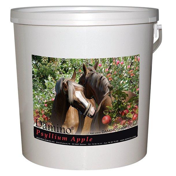 Damino Psyllium Apple 3 kg - loppefrøskaller til kræsne heste