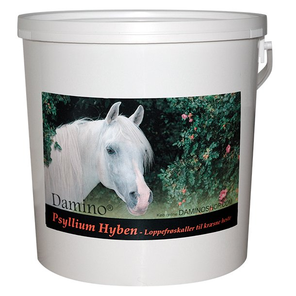 Damino Psyllium Hyben 3 kg - loppefrøskaller til kræsne heste