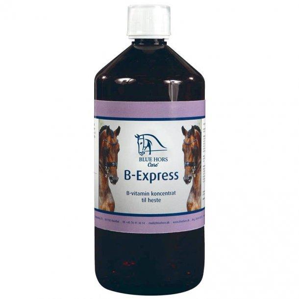 blue hors b express 1 ltr 159 kr b vitamin kan hj lpe. Black Bedroom Furniture Sets. Home Design Ideas